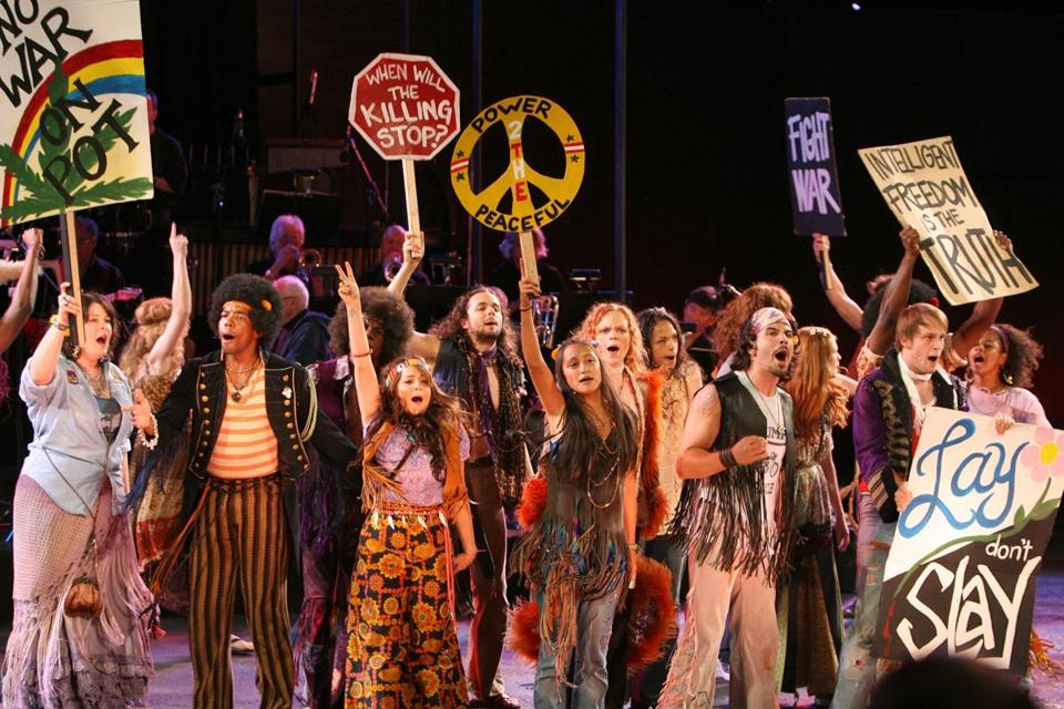 "The Public Theater presented ""Hair,"" directed by Diane Paulus, at the Delacorte Theater in New York in 2008."